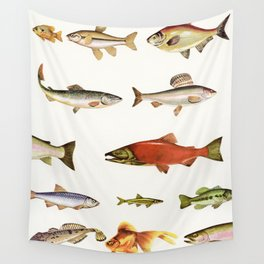 Fishing Line Wall Tapestry
