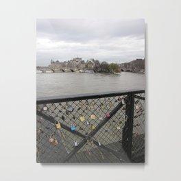 Lover's locks Metal Print