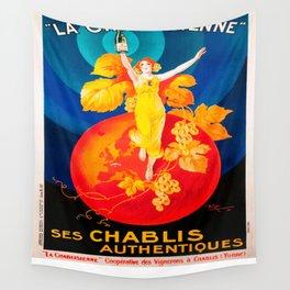 Vintage poster - Ken I Kohojo Tablets Wall Tapestry