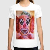 clown T-shirts featuring Clown by Digital-Art