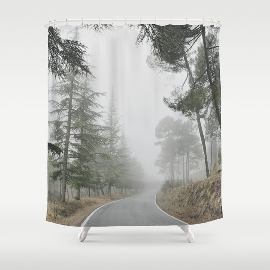 """Into the woods"" Come in..... Shower Curtain"