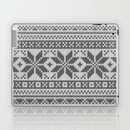 Winter knitted pattern4 Laptop & iPad Skin