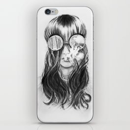 You are not crazy iPhone Skin