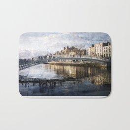 Ha'PPeny Bridge Bath Mat