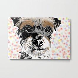 Pop Art Pup Metal Print