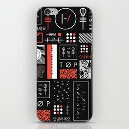 21PILOTS iPhone Skin
