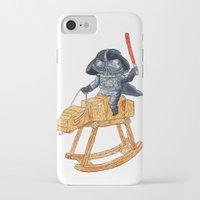 darth iPhone & iPod Cases featuring Darth Vader by gunberk