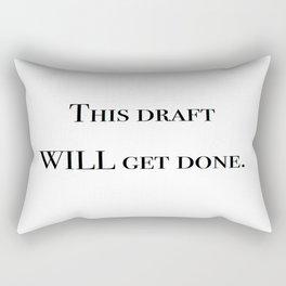 Writing motivation #1 Rectangular Pillow