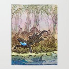Lizard Island / Blue Beard Poster