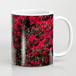 Secret Window Behind the Red Flowers Coffee Mug
