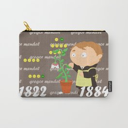 Gregor Mendel Carry-All Pouch