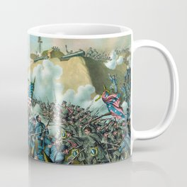 The Capture of Fort Fisher - Civil War Coffee Mug