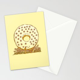 In Bloom Donut Stationery Cards