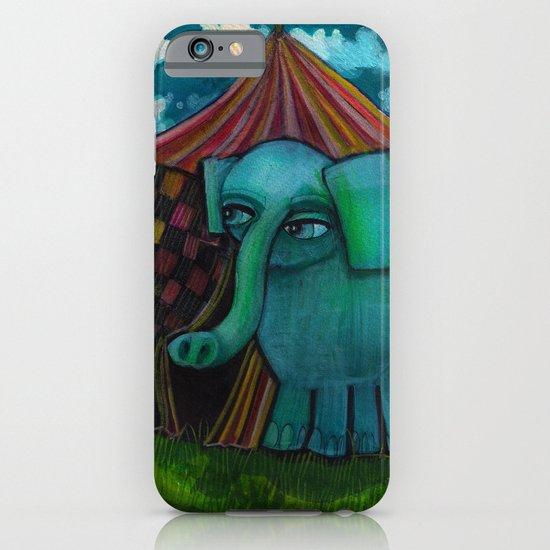 BLUE ELEPHANT.  iPhone & iPod Case