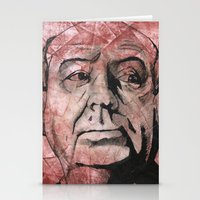 hitchcock Stationery Cards featuring Hitchcock by Colunga-Art