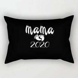 Mama Loading Baby Feet Baby Papa Become Parents Rectangular Pillow