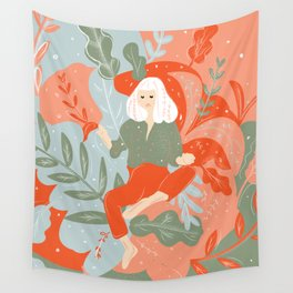 Take Me To The Wonderland Wall Tapestry