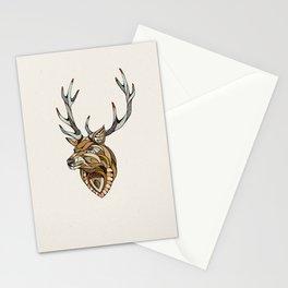 Deer // Animal Poker Stationery Cards
