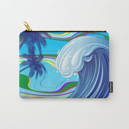 Sea Ocean big Wave Carry-All Pouch