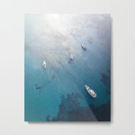 Aegean Sea, Greece Metal Print