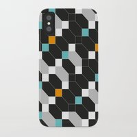 depeche mode iPhone & iPod Cases featuring Mode duex by blacknote