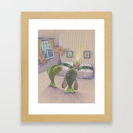 Sashimi Hotel Framed Art Print