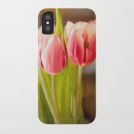 The Tulip and the Ladybug iPhone Case