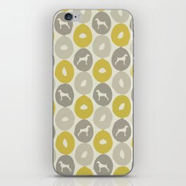 Bagels and Weims iPhone Skin