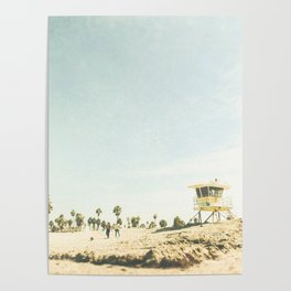 west coast, sky, summer, Hollywood, Beverly Hills, celebrities Poster