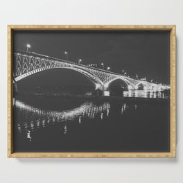 Peace, Bridges! Serving Tray
