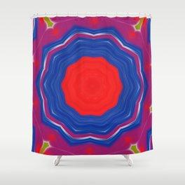 Kaleidoskope Shower Curtain