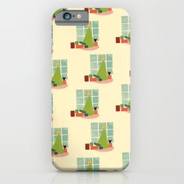 Meowy Merry iPhone Case