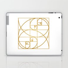 Golden Waves Laptop & iPad Skin