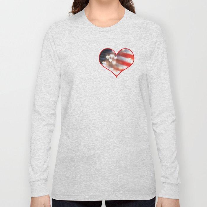 A Love as Big as America Long Sleeve T-shirt