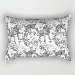 Fetching Florals Rectangular Pillow