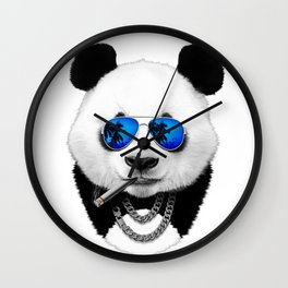 Cool Panda Wall Clock