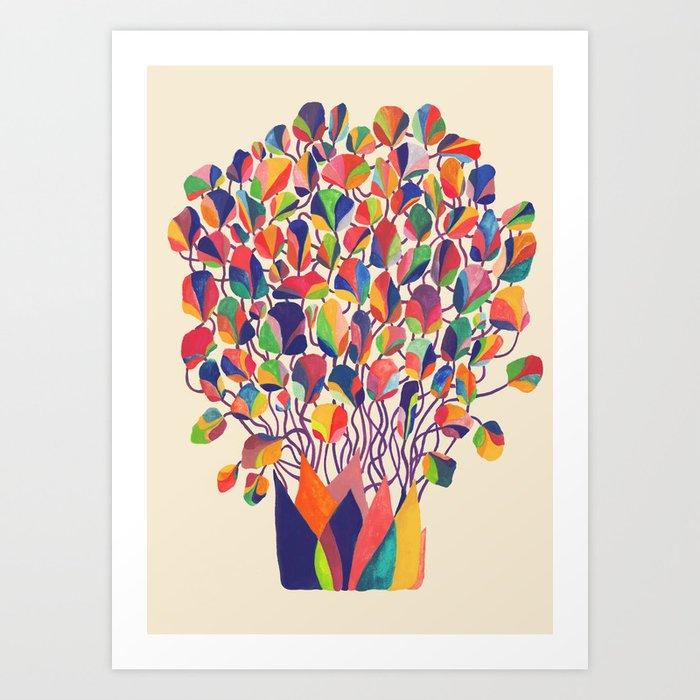 felicitous Art Print