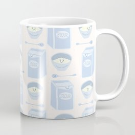 Cute vector bag of flour illustration. Coffee Mug