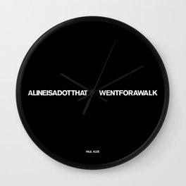 PAUL KLEE Wall Clock