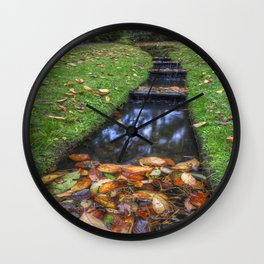 Autumn Waters Wall Clock