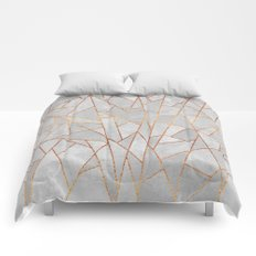Shattered Concrete Comforters