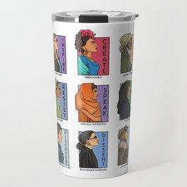 She Series - Real Women Collage Version 1 Travel Mug