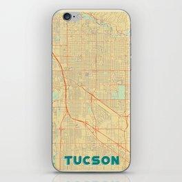 Tucson Map Retro iPhone Skin