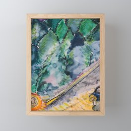 GuardRail Framed Mini Art Print