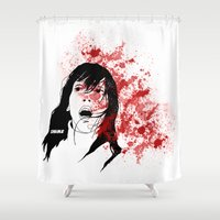 shining Shower Curtains featuring Shining by SeanAndOnAndOn
