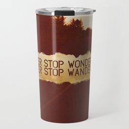 wonder + wander. Travel Mug