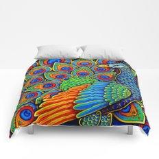 Paisley Peacock Comforters