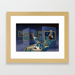 All the Rowboats Framed Art Print