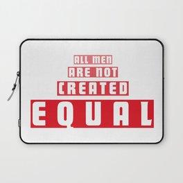 Equal Men Laptop Sleeve