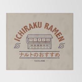 Ichiraku Ramen Japanese Throw Blanket